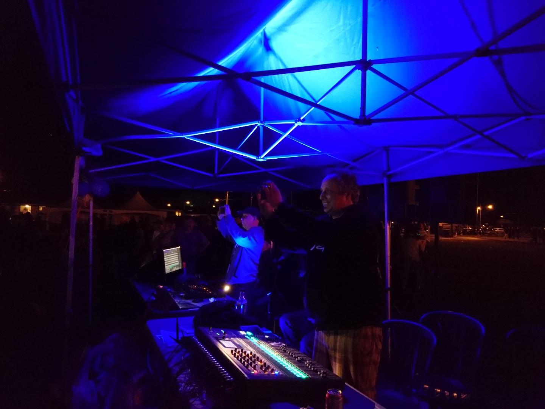 Fête Nationale du Québec à Farnham le 23 juin 2018. C'est Acoustix Québec qui s'occupait de la sonorisation et de l'éclairage de l'événement.